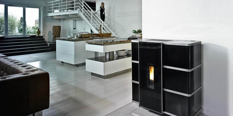poele a pellet wodtke. Black Bedroom Furniture Sets. Home Design Ideas