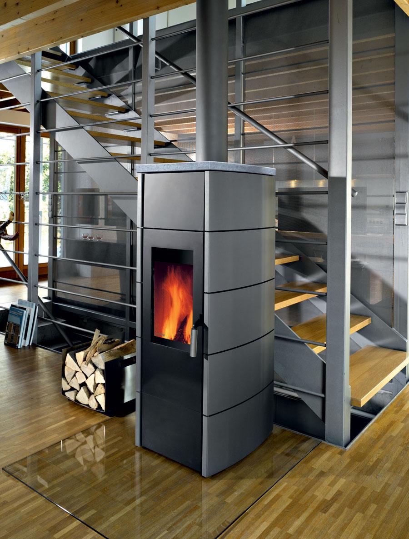 po le b ches plaque d corative en acier ou pierre ollaire. Black Bedroom Furniture Sets. Home Design Ideas