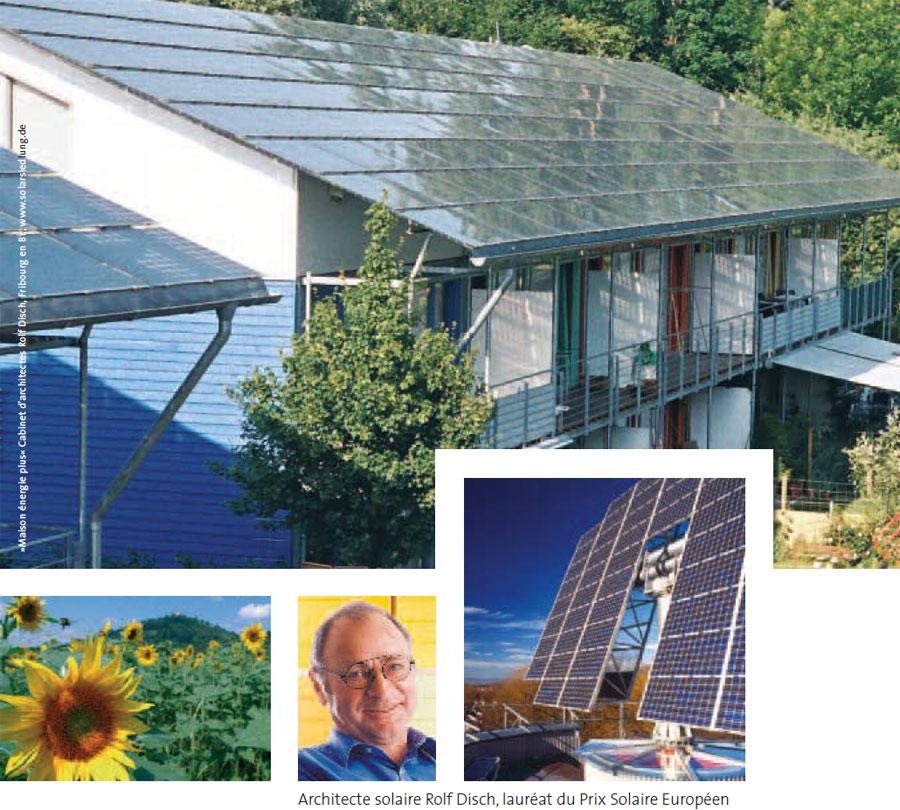 Architecte solaire Rolf Disch